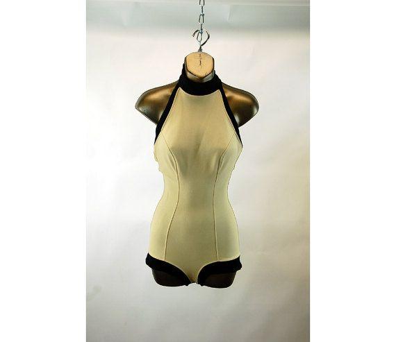 1950s bathing suit swimsuit Jantzen International by vintagerunway