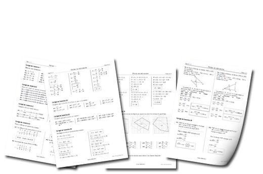 Pyromaths, un générateur de fiches d'exercices de mathématiques pour les élèves du secondaire...