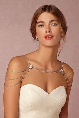Reina Shoulder Necklace  #BHLDNwishes