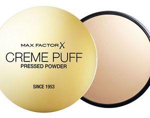 Max Factor Creme Puff  Pressed Powder | 75 Golden http://www.drogisterij.net/verzorging/make_up/gelaat/poeders/max-factor-creme-puff-powder-75-golden-96077238?partnercode=222&origin=pla&keyword=&mt=&gclid=Cj0KEQiAs6GjBRCy2My09an6uNIBEiQANfY4zP4FXQ1lHOfW7SKADwj8jdS2oNmD2z0NuFaQoCXPUfMaAlz78P8HAQ&gclsrc=aw.ds