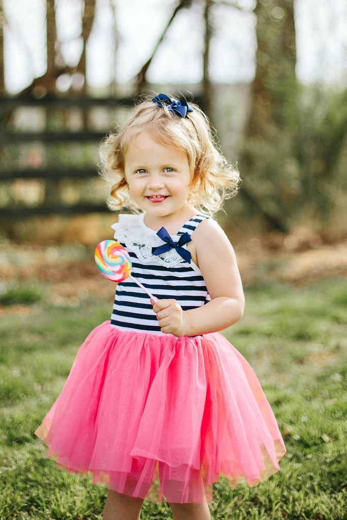 Outfit of the Month:  Our gorgeous Ivy Tutu Dress starts at just $10.80!  The perfect Spring dress for your little lady!