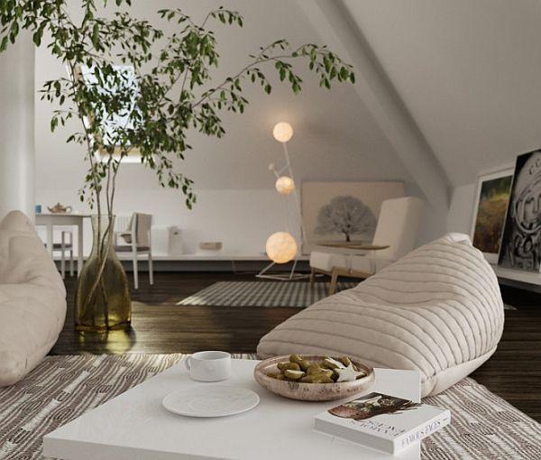Decorated attic spaces