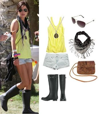 Outfit for Rainy Festival