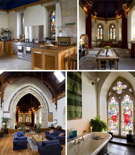 8 Churches Turned Into Homes