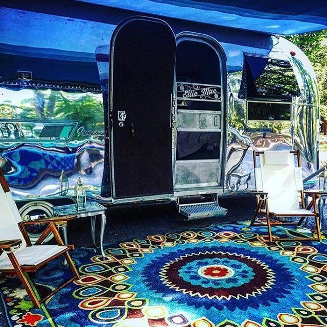 Airstream Campsite Decoratingairstream Trailerscamperdecor Ideascamping