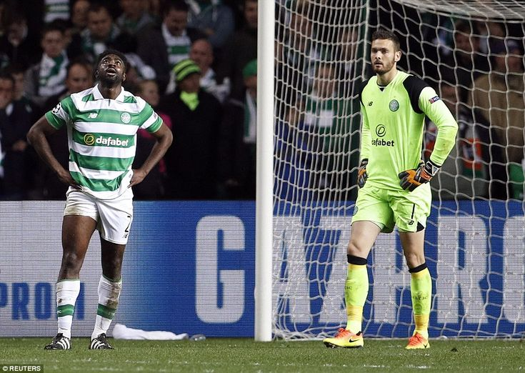 Gordon and Toure can't hide their disappointment after Celtic's Champions League aspirations were blown apart