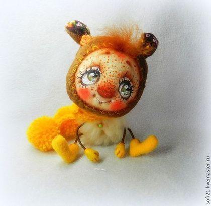 Мишка-домовушка или возьми меня на ручки) - мишка,кукла,авторская игрушка