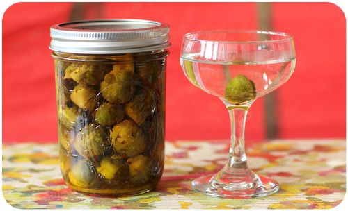 500 Tasty Sandwiches - Make These Now: Pickled Brussels Sprouts, The Perfect Martini Ingredient