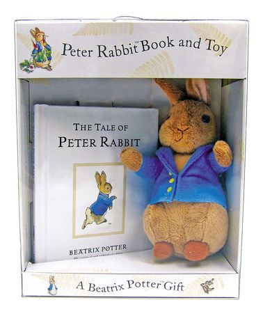 Another great find on #zulily! The Tale of Peter Rabbit Hardcover & Rabbit Plush by Peter Rabbit #zulilyfinds