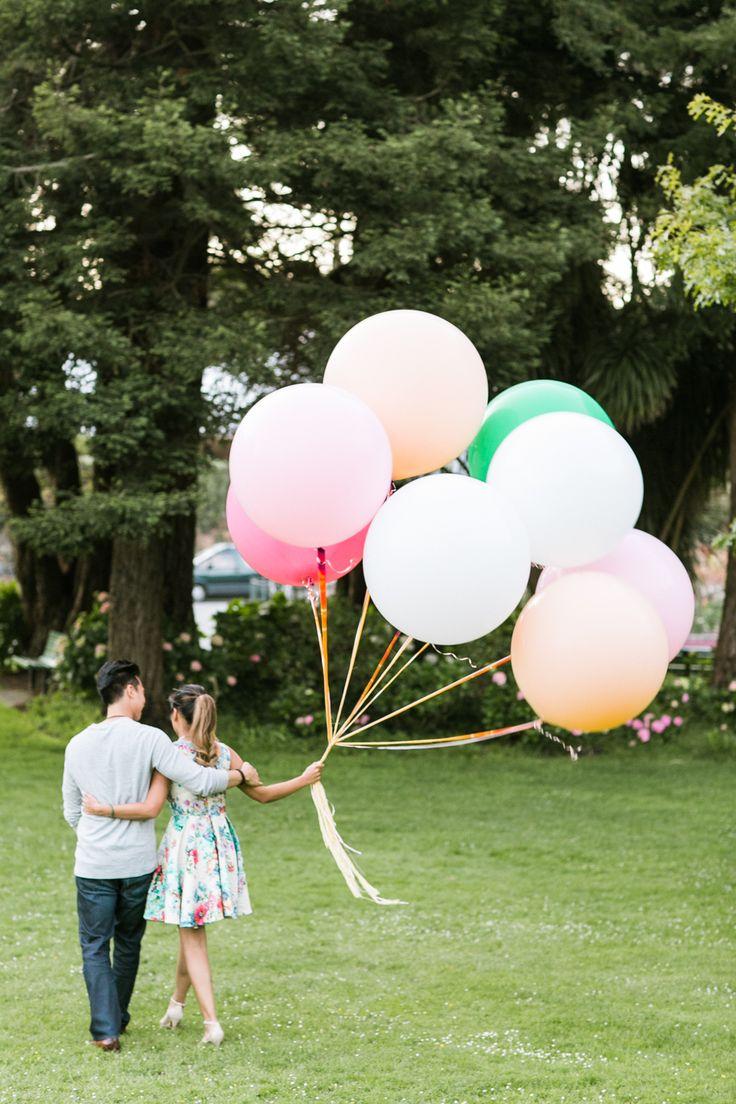 Whimsical Park Tavern & Golden Gate Park Engagement Session: Nancy + Dustin