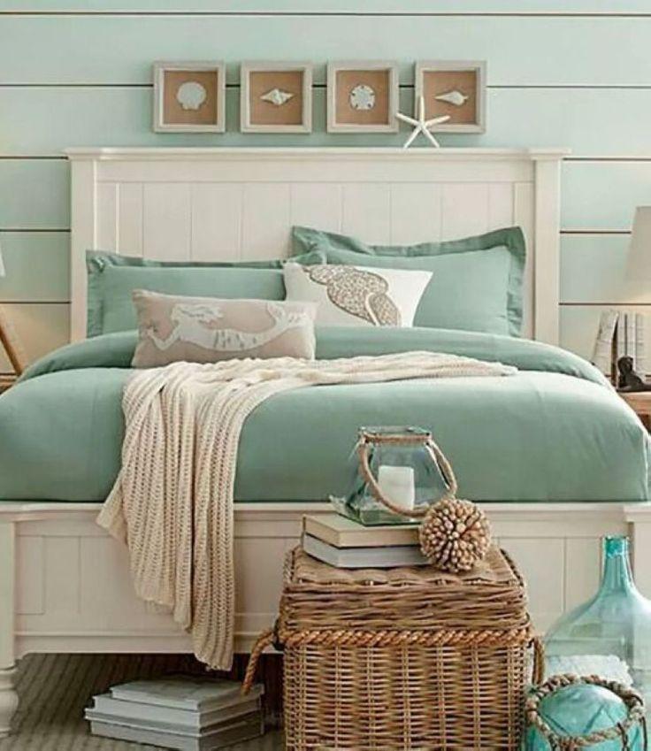 Gorgeous 35 Magnificent Ideas for Beach Bedroom Design homiku.com/…