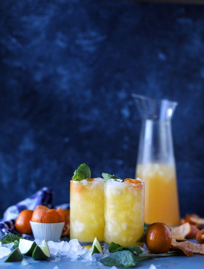 clementine vodka soda I howsweeteats.com