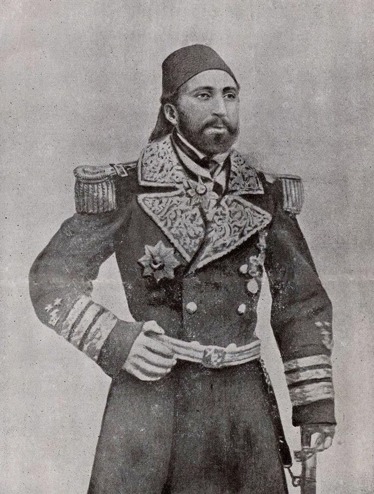 Mustafa Pasha, An English Origin Naval Pasha, Dead in 1 October 1870 (İngiliz Mustafa Paşa, Ö:1870)