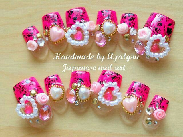 139 best jssminnnns images on Pinterest   3d nails, Pretty nails and ...