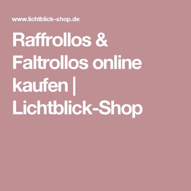 Raffrollos & Faltrollos online kaufen   Lichtblick-Shop