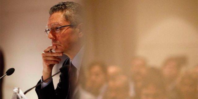 El ministro de Justicia, Alberto Ruiz-Gallardón. | EL MUNDO