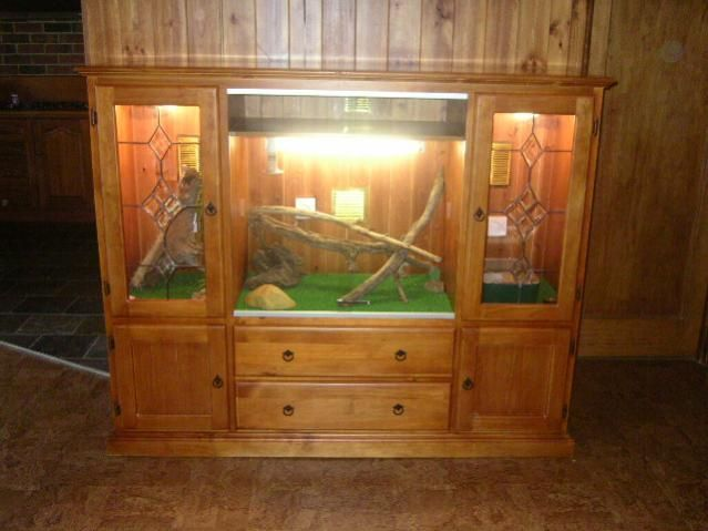 build your own bearded dragon cage | Could do this for aviary as well