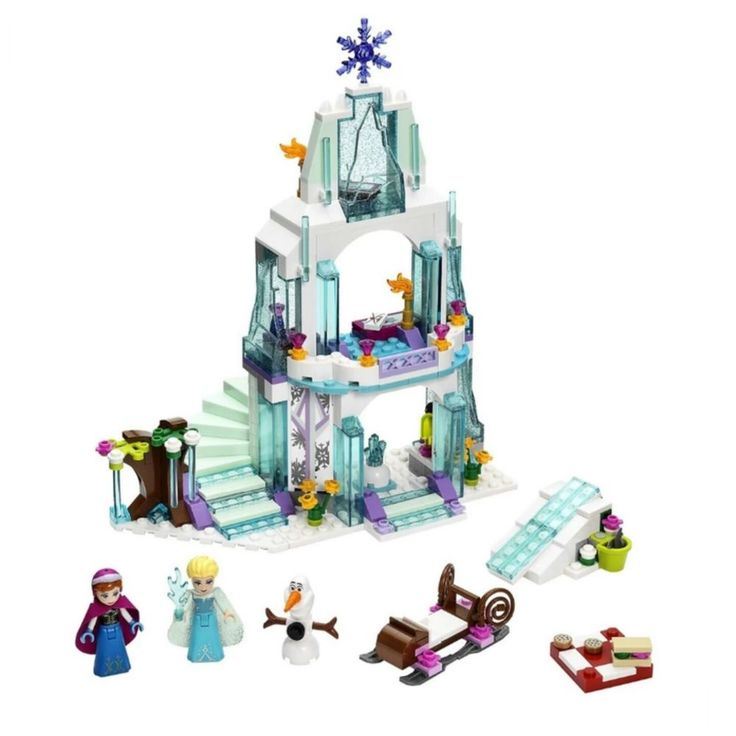 Princess Elsa's Sparkling Ice Castle