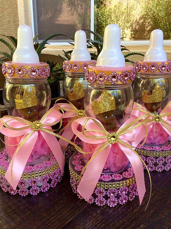 Princess Baby Shower Centerpiece  Little Princess Cake Topper  Purple Baby  Shower  Royal Purple Princess Baby Shower  Princess Centerpiece