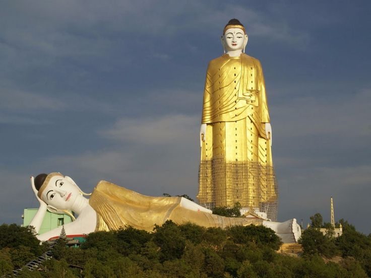 16 of the worldu0027s most enormous statues. Reclining BuddhaSculpturesPlacesGautama ...  sc 1 st  Pinterest & The 25+ best Monywa ideas on Pinterest | Myanmar (Burma ... islam-shia.org
