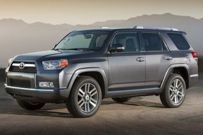 2012 Toyota 4Runner - Not sure I like this new style...