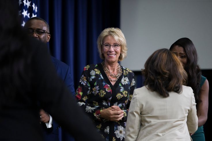 Betsy DeVos Reverses Obama-era Policy on Campus Sexual Assault Investigations