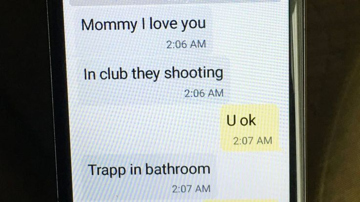 Eddie Justice hid in a bathroom in gay nightclub Pulse in Orlando was texting his mother as the shooting happened. His name has now appeared on the list of the dead.