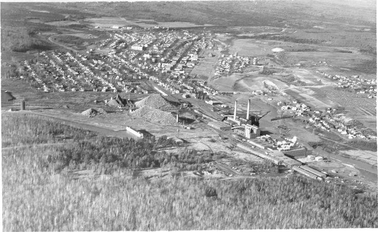 Early view of Millinocket