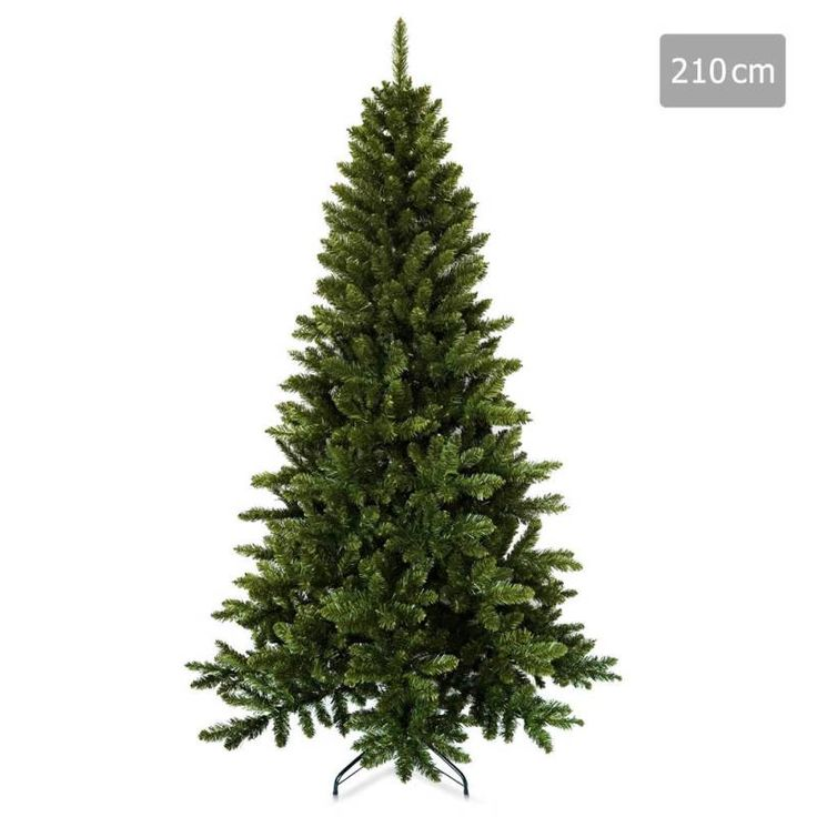 Christmas Tree with 850 Tips in Green PVC - 2.1m | Buy Christmas Trees