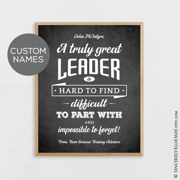 Leaders gifts male leader appreciation custom gift