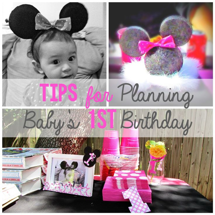 10 Tips for Planning Baby's First Birthday Party and to make it LESS stressful for Mom. #birthday #firstbirthday #partyplanning