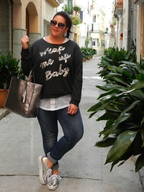 Plus Size Fashion - VSTETE QUE VIENEN CURVAS: Cyber Monday Outfit