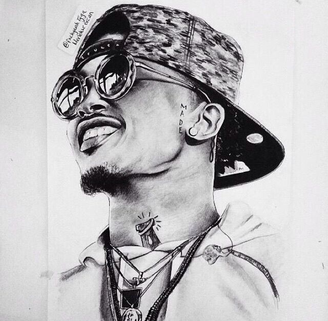 August Alsina Art ₳Ʀ₮ August Alsina Wallpaper August