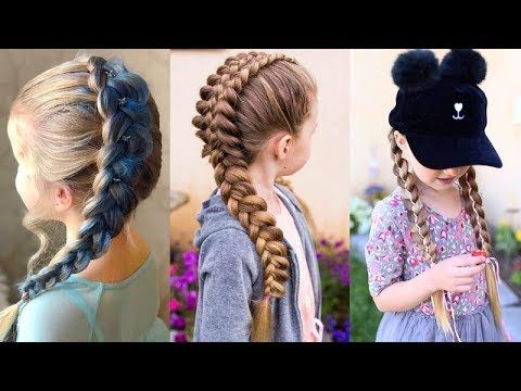 10 Cute Hairstyle For Kids ❀ Little Girl's Hairstyle Tutorial – YouTube