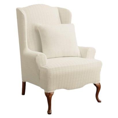 Wingback Slipcover Furniture Pinterest