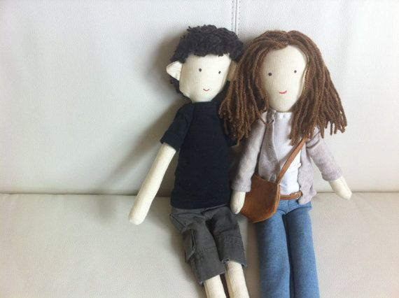 Handmade custom dolls  dolls made by photo Lovers by apacukababa