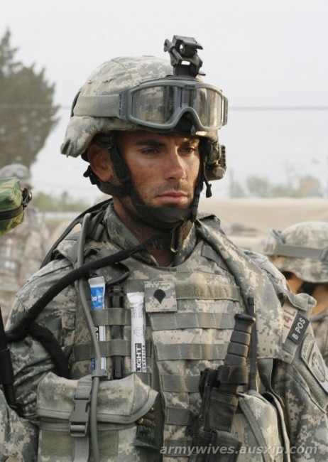 I LOVE him, Army Wives I wish they would bring him and Roxy back :-(