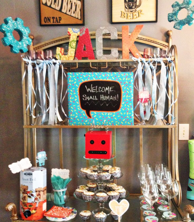 robot baby shower party robot baby shower see more