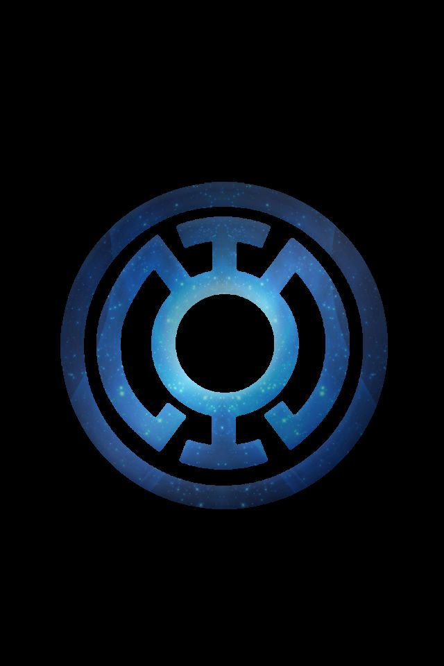 Stary Blue Lantern Logo background by KalEl7 on deviantART