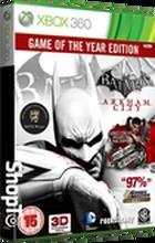 Batman Arkham City GOTY £24.85 www.shopto.net