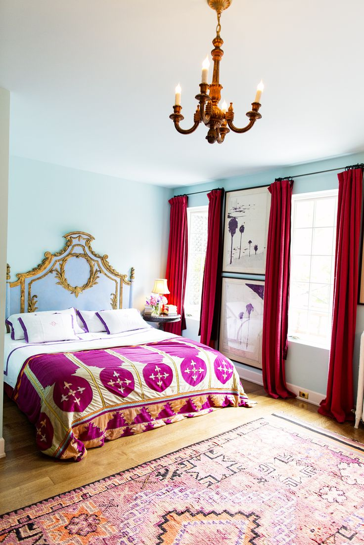 2015 08 decorating with plum and damson - The Selby Olatz Schabel Bedroom