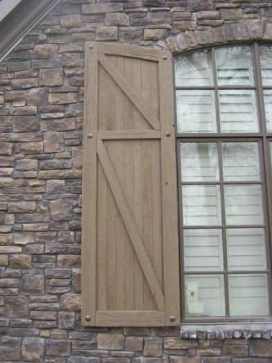 37 best shutters images on Pinterest | Exterior shutters, Rustic ...