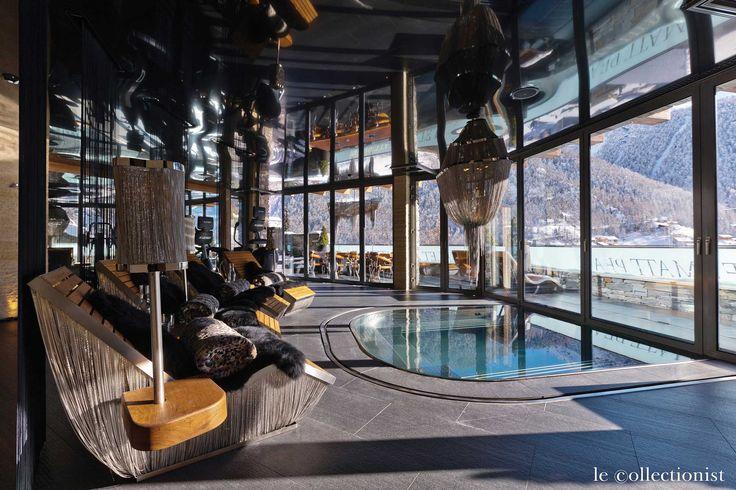 Chalet Matten in Zermatt, the Ultimate Luxury Wooded Mountainside Chalet | http://www.caandesign.com/chalet-matten-zermatt-ultimate-luxury-wooded-mountainside-chalet/