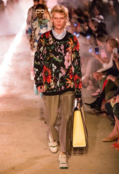 Gucci Resort 2019 Fashion Show Gucci Fashion Fashion