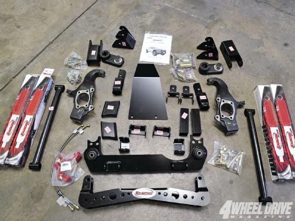 2011 Chevy Colorado Gets Wheels Tires Lockers Suspension rancho Suspension Photo 38968890