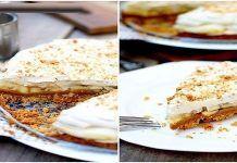 Баноффи пай — необычный банановый пирог  Английский десерт, который состоит из обязательных продуктов, таких как бананов, вареного сгущённого молока, теста и сливок – это вкуснейший баноффи пай.