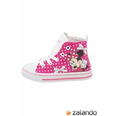 Lo Disney MINNIE Hightop trainers pink #shoes #offduty #covetme #disney