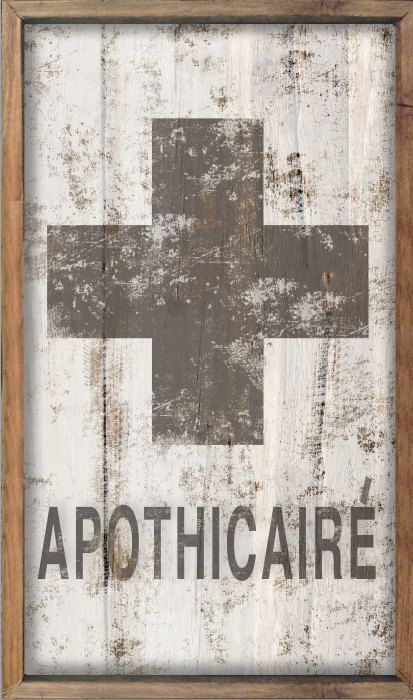 APOTHICAIRE apothecary bathroom decor kid's by DesignHouseDecor