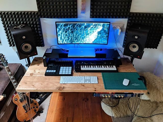 A Solid Studio Setup With Some Nice Gear By Mrpengg Musicstudio