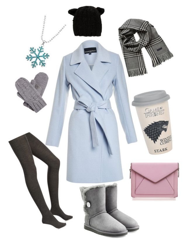 """Winter is coming"" by rainbowfra on Polyvore featuring Isotoner, Eugenia Kim, Merinos, UGG Australia, Rebecca Minkoff, Jack & Jones and Disney"